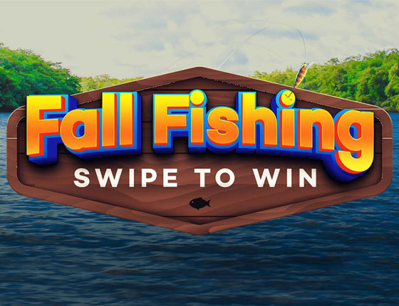 FALL FISHING SWIPE TO WIN