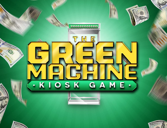 GREEN MACHINE KIOSK GAME