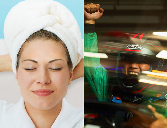 COUPLES + KARTING PACKAGE